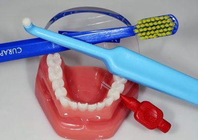 zubní kartáčky curaprox a tepe